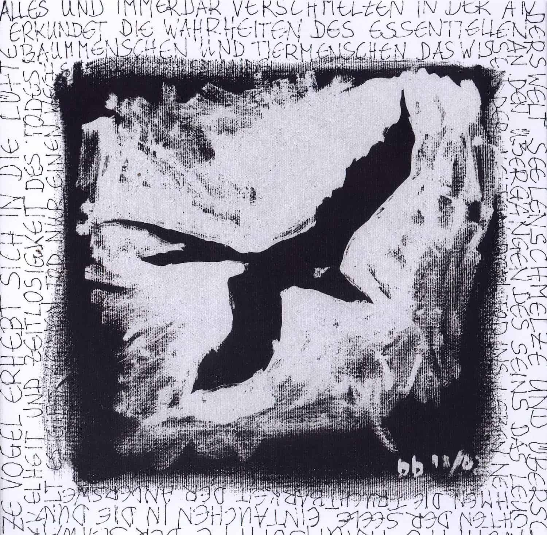 Black bird - Bildende Kunst - Barbara Baum