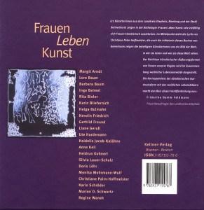 Frauen Leben Kunst - Barbara Baum - Buch-Umschlag-hinten