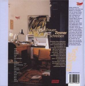 Frauen Zimmer Schreiben - Barbara Baum - Buch-Umschlag-hinten
