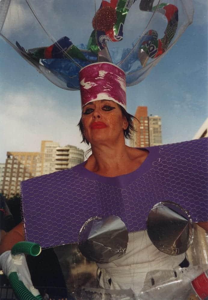 Müll-Diva - Performance - Barbara Baum