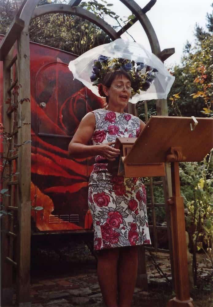 Rösliche Rezitationen - Performance - Barbara Baum